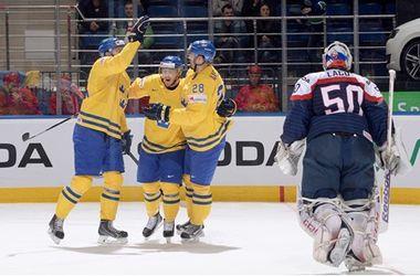 Чемпионы мира шведы одержали пятую подряд победу в Беларуси