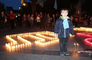 Во Львове почтили память жертв депортации крымскотатарского народа