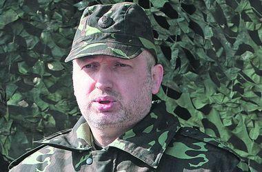 Турчинов: У нас есть армия, которая готова выполнять боевые задачи