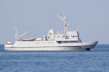 Курсанты Академии Нахимова проходят практику на кораблях и катерах украинских ВМС