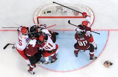 Белорусы обыграли латвийцев и вышли в плей-офф чемпионата мира по хоккею