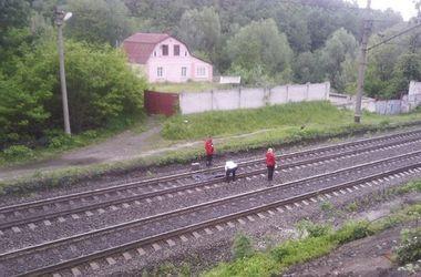 В Киеве поезд насмерть сбил женщину