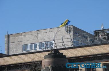 В Днепропетровске площадь Ленина окончательно переименовали в Героев Майдана