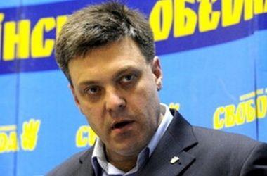 Тягнибок предложил досрочные парламентские выборы, чтобы избежать контрреволюции