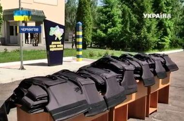 Черниговские пограничники - получили сто бронежилетов