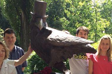 В центре Киева появилась необычная скульптура