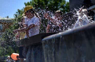 В Украину идет сухая жара