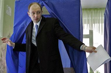 Я голосовал - за президента Украины, - Яценюк