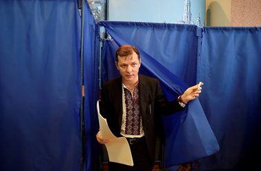 Ляшко уже проголосовал