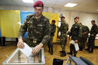 На выборах уже проголосовали 58% военнослужащих - Минобороны