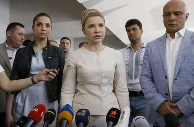 """Тимошенко, Турчинов и Соболев: """"Мы разрушили планы врагов  и выборы состоялись"""""""