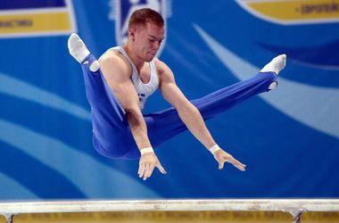 Украинский гимнаст Олег Верняев стал чемпионом Европы