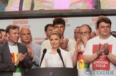 Соболев и Власенко пришли в футболках с изображением Тимошенко в образе Че Гевары