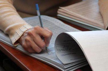 """В Одесской области, вместо подписей избирателей, комиссия ставила в списках """"галочки"""""""