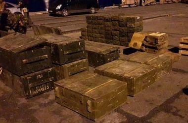 СБУ перехватила более сотни единиц стрелкового оружия предназначенного для боевиков