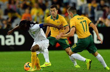 Футболисты Австралии и ЮАР сыграли вничью в товарищеском матче