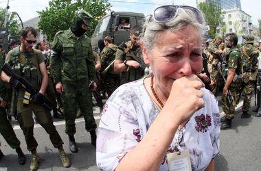 Боевые действия в Донецке набирают обороты