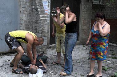 Бой в Донбассе глазами очевидцев (+21)