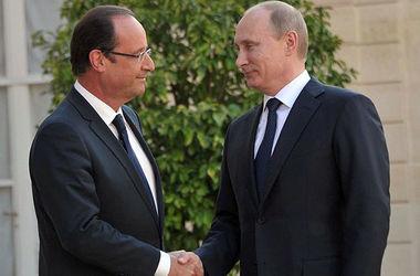 "Олланд и Путин ""с глазу на глаз"" обсудят ситуацию в Украине"