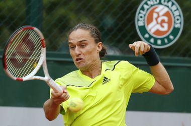Александр Долгополов, выиграв два первых сетах - проиграл матч на Ролан Гаррос