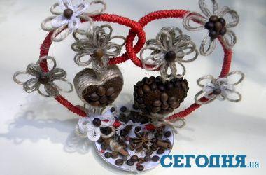 Необычные сувениры из кофе, аниса и корицы