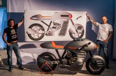 Украинцы разработали уникальный мотоцикл