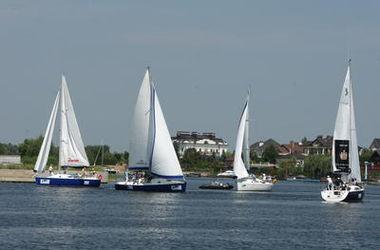 В киевской парусной регате будут соревноваться 30 яхт
