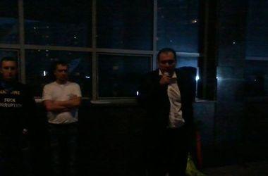 """К Голосеевской администрации приезжают кандидаты, у которых """"украли"""" голоса"""