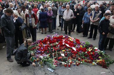 В Ивано-Франковске попрощались с погибшими в ходе АТО милиционерами
