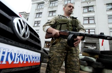 В Луганской области вооруженные боевики ограбили часть МЧС