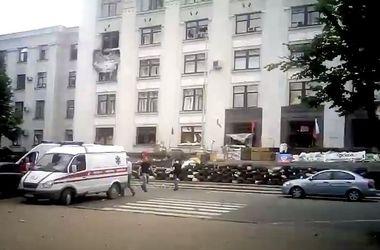 В Луганской ОГА прогремел взрыв