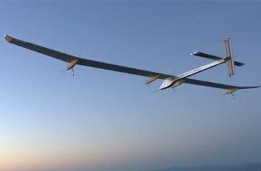 Самолет на солнечных батареях Solar Impulse 2 успешно совершил полет