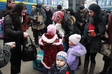 Для переселенцев c востока Украины есть 39 тысяч свободных мест размещения