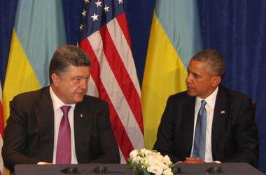 Порошенко на встрече с Обамой: Мы будем требовать вывода иностранных военных из Крыма