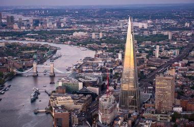 В Лондоне загорелся самый высокий небоскреб в ЕС