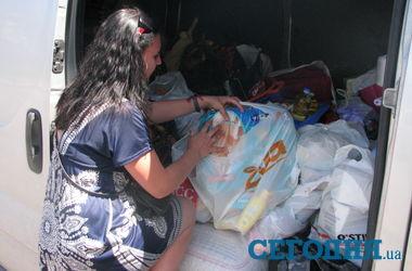 Харьковчане отправили гуманитарную помощь для детей из Славянска