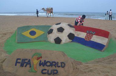 ЧМ-2014: онлайн матча Бразилия - Хорватия