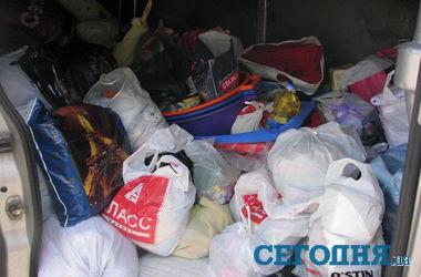 Как харьковчане помогают жителям Донбасса: детям несут подгузники, а взрослым - зубные щетки