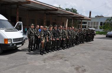 Тернопольские милиционеры едут в зону АТО на смену своим коллегам
