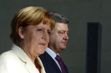 Меркель пообещала Порошенко поддержку Германии