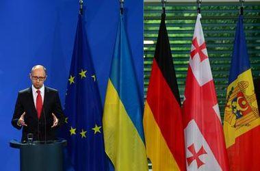 Украина уже не свернет с европейского курса - Яценюк