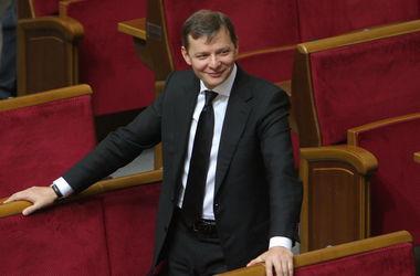 Ляшко выгнал из Рады российских журналистов