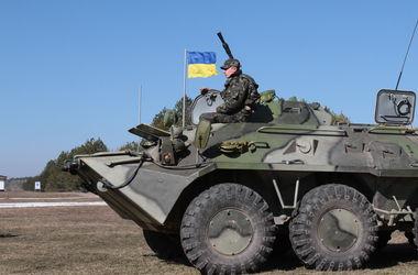 Силы АТО уничтожили базу террористов в Луганской области