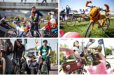 В Киеве пройдет карнавал на велосипедах