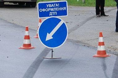 На Кардачах в Киеве сегодня произошло двойное ДТП
