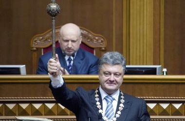 Инаугурация президента: Порошенко на Софиевской площади присягнули военные (постоянное обновление)