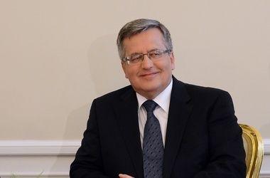 Президент Польши надеется, что Украина и Россия проведут переговоры