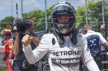 Нико Росберг выиграл квалификацию Гран-при Канады