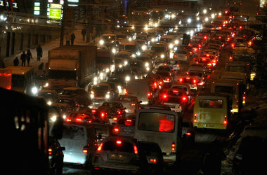 В Киеве за одни сутки водители нарушили правила полтысячи раз
