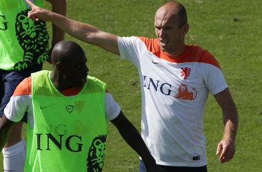 Игроки сборной Голландии чуть не подрались на тренировке